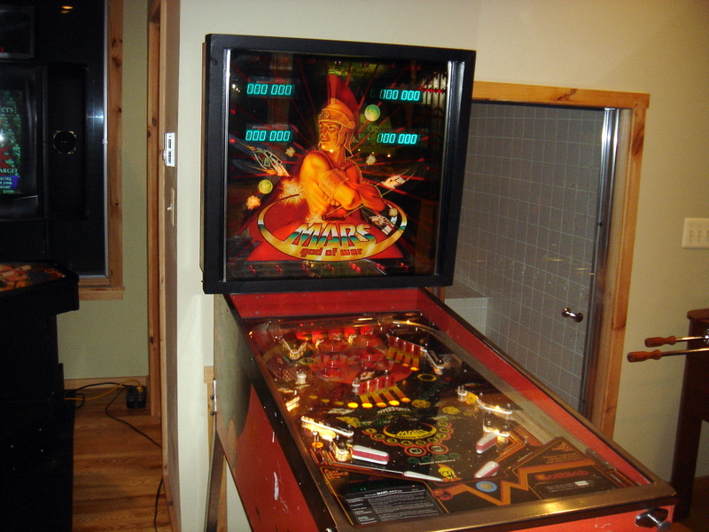 Mars God of War Pinball